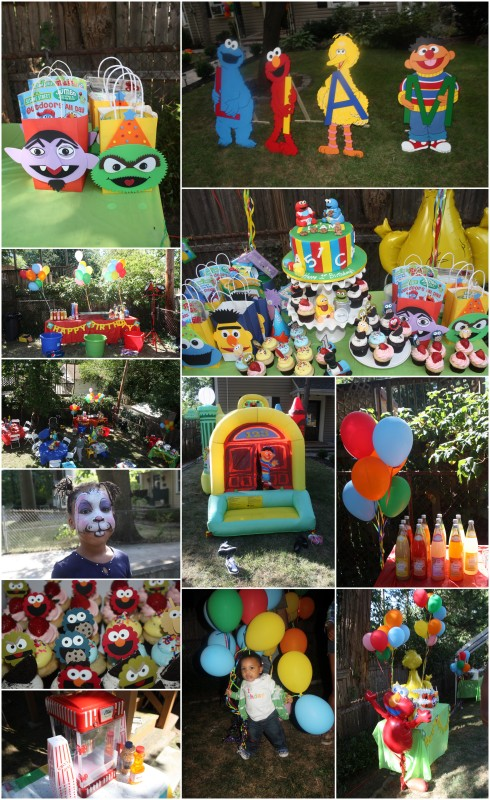 Liam's Sesame Street Themed Birthday Party